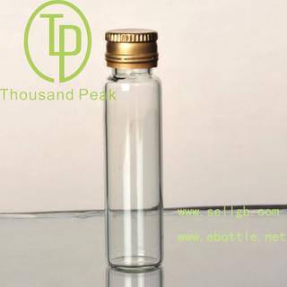 TP-4-01 10ml 玻璃瓶 带防盗铝盖 适合装保健品 药品等