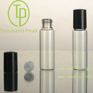 TP-3-24-3 15ml管制滚珠瓶黑色塑料盖帽