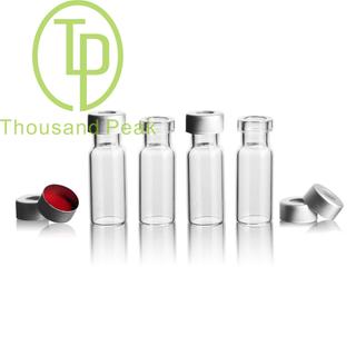 TP-1-20 1.5/2ml进样瓶透明液相色谱玻璃样品瓶 取样瓶顶空瓶 进样瓶整套100套