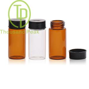 TP-1-11 20ml 棕色玻璃瓶配黑色螺口盖