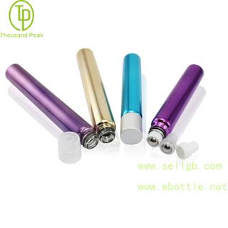 TP-3-32 10ml 金属电镀玻璃滚珠瓶 可以装香水 精油瓶等