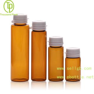 TP-2-06 6ml 10ml 15ml 20ml 棕色瓶配防盗撕拉盖