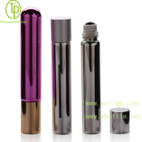 TP-3-21 7ml 金属电镀玻璃滚珠瓶 可以装香水 beplay体育下载网址等