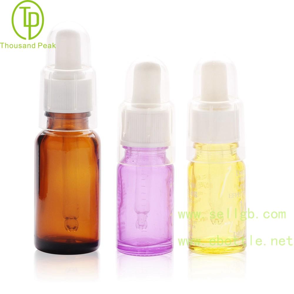 TP-2-52 10ml 20ml 30ml 精华液滴管瓶 带透明罩